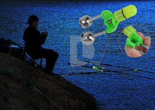 Mini Pocket Fishing Rod Pole Reel 2X Fish Bite Alert Pen Shape Travel