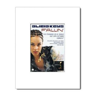 Alicia Keys Fallin Matted Mini Poster