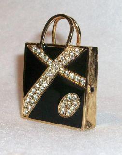 Estee Lauder Perfume Compact *** Saks Fifth Ave Shopper *** 2008
