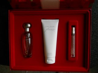 NIB ESTEE LAUDER PLEASURES GIFT SET BOX LOTION PERFUME SPRITZ
