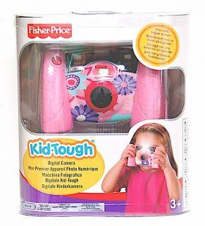 Fisher Price Kid Tough Girls Pink Digital Camera New 0027084614886