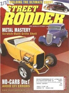 January 2006 Street Rodder Reichenberts 1934 Ford Five Window Coupe