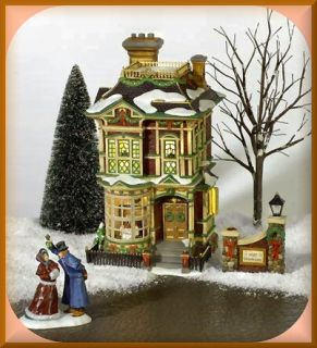Victorian Family Christmas House  UTube NEW Department Dept 56 Dickens