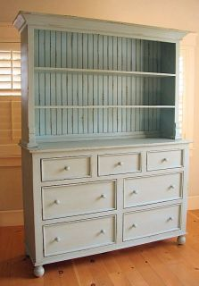 Wood Linen China Hutch 30 Paints Stains Fine Furniture New