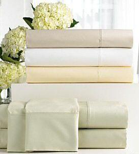 Fine Linens Preston Home Ivory King Sheet Set