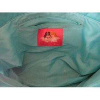 Fiorucci Handbag Huge Diaper Bag Colorful Laminated Large Authentic