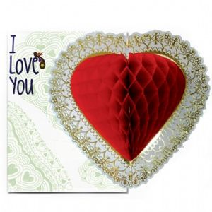 dad other i love you card with hanging paper heart