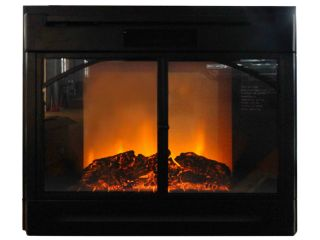 Electric Firebox Fireplace Insert Room Heater Patented BFL 28R New 28