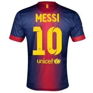 Barcelona Football Soccer Home Jersey 2012 2013