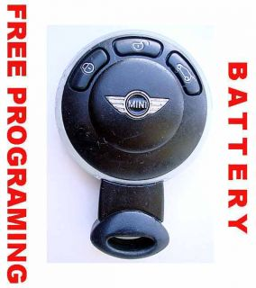2007 2008 2009 2010 Mini Logo Cooper Smart Key Keyless Remote