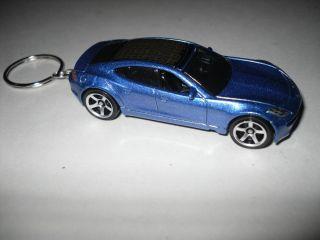 Fisker Karma Custom Key Chain Key Ring Fob Solar EV 4 Door