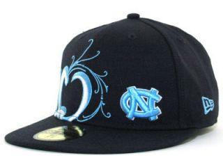 New New Era 59Fifty UNC Tarheels Taggin Fitted Cap Hat $32