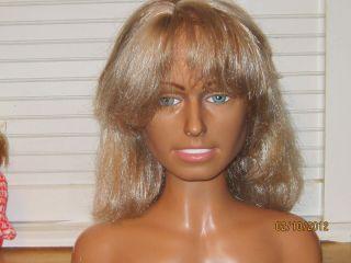Farrah Fawcett Vintage Barbie Doll Make Up Head Charlies Angels