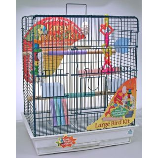 Ribbon Pet Complete 28 Bird Cage Kit for Large Bird T1 SSK