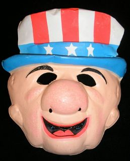 1974 Mr Magoo Plasic Mask w ag Plus Bonus 1975 Mask