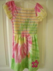 Girl Size 6 Terry Cloth Dress Swimsuit Coverup Flapdoodles