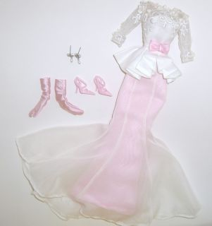 EVENING GOWN Silkstone Barbie Collector Doll Fashion CLOTHES SET