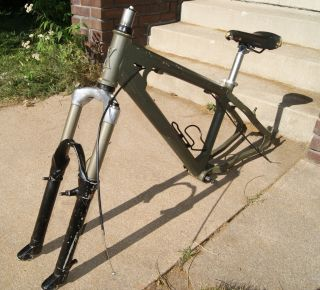 Planet X Jack Flash Dirtjump/Street Bike Frame w/ Marzocchi Fork Dirt