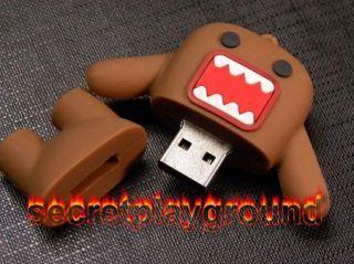 8g 8GB Domo Kun Figure USB Flash Drive Memory Stick