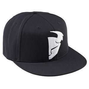 Thor Flat Bill Hat Baseball Cap Warrior Black Large x Large