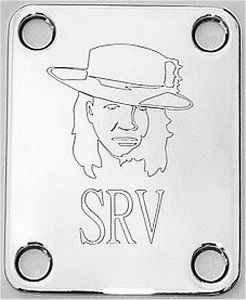 Guitar Parts NECK PLATE Custom Engraved Fit Fender STEVIE RAY VAUGHAN