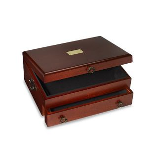 Cherry Flatware Silverware Storage Chest by Reed and Barton