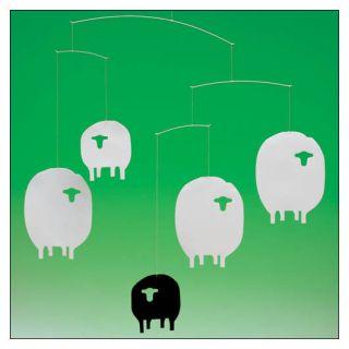 Flensted Sheep Mobile by Christina Parrett for Flensted Mobiles