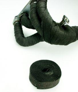 Heat Wrap Tape Ceramic Fiber Exhaust Manifold 10M Black