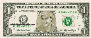 F1 DRIVER FELIPE MASSA #2 DOLLAR BILL UNCIRCULATED MINT US CURRENCY