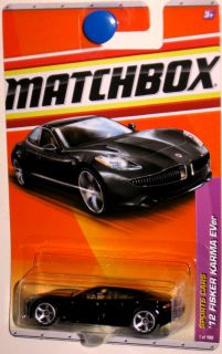 2012 Fisker Karma Hybrid Matchbox 2011 Sports Cars 1 100 black