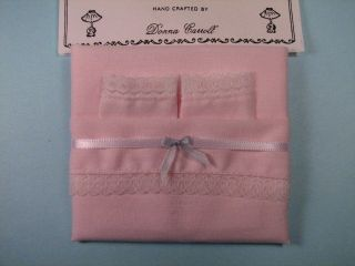 Dollhouse 4 PC Pink Full Size Fitted Bottom Sheet Set