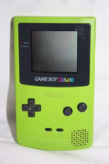 Nintendo Game Boy Color GBC Lime Green Handheld System