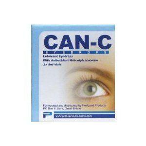Can C Carnosine Eye Drops 10 ml Vials Lubricant Liquid Bottles 5 oz