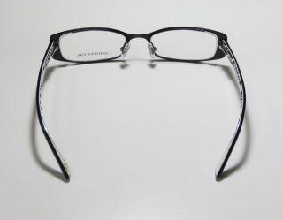 NY J609 BLACK METAL/PLASTIC ARMS VISION CARE EYEGLASSES/GLASSES/FRAMES