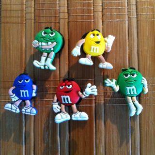 Shoe Charms Fit Crocs Jibbitz Set of 5 Colorful M MS