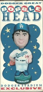 Fernando Valenzuela Dodgers Bobble Head Dodger Stadium Giveaway