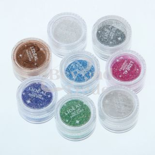 New Light Green Eyeshadow Glitter Powder Decoration Nail Art Dust