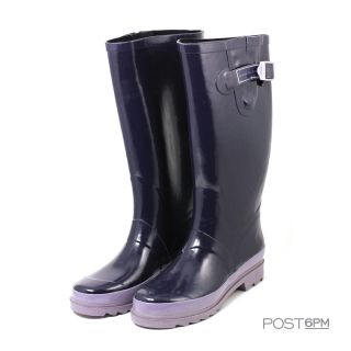 Marc by Marc Jacobs Women Rubber Rainboots Rain Boots Purple