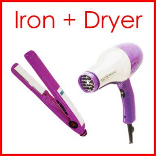 Chi Smart Hair Dryer Amp Titanium Ceramic Iron Mini Travel Set