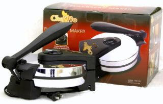 Chef Pro FBM108 8\ Roti Tortilla Maker 110V Temperature Control