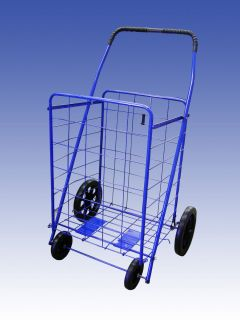 Extra Large Heavy Duty Folding Shopping Cart for Grocery Laundry more