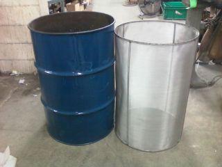 55 Gallon Drum Filter Cooking Oil Basket Biodiesel Filter VEG Oil