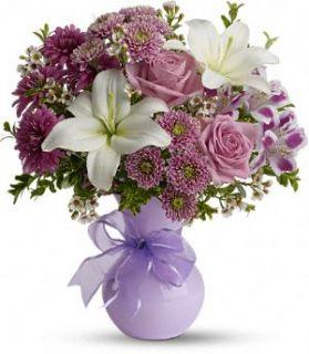 elefloras Precious in Purple FWEB602 Fresh Flower Delivery