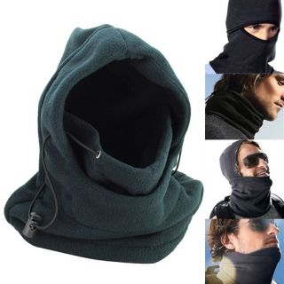 Double Layers Thicken Warm Full Face Cover Winter Ski Mask Beanie CS