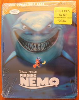 Finding Nemo Blu Ray Steelbook Metal Case Best Buy Exclusive SEALED