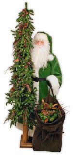 Wintergreen Santa Claus Father Christmas Ditz Designs Free SHIP No Tax