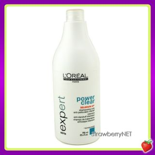 Professionnel Power Clear Intersive Anti Dandruff Shampoo 750ml NEW