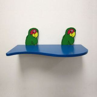 Pcs 31 Blue Floating Shelf Child Wall Shelf Board Gift New