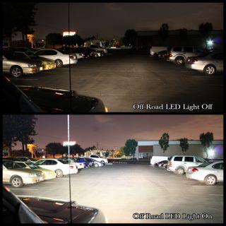 Driving Lamping Fishing Mining Work Flood Light Bar Offroad Car Truck