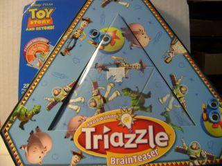 Walt Disneys TRIAZZLE Puzzle BrainTeaser Toy Story Ages 8 NIB
